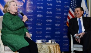 400_300_1_Haim_Saban_and_Hillary_Clinton_2_