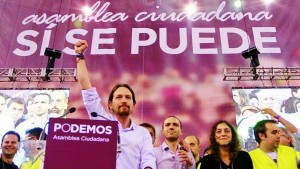 SPAIN ELECTIONS 2015 - CAMPAIGN PODEMOS