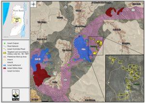 Map explaining the strategic importance of Ammona.
