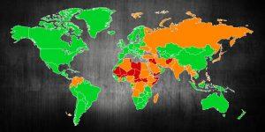 dangerous countries world