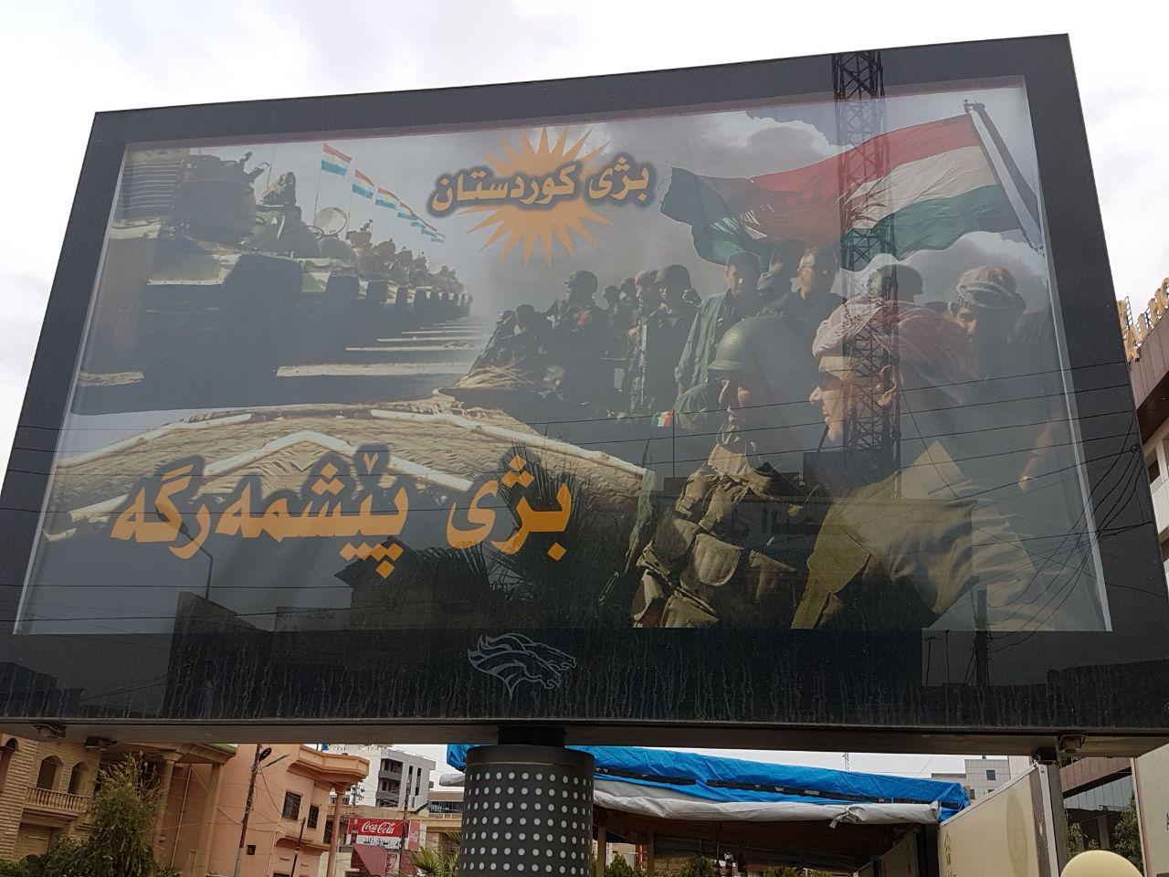 Young Diplomats Peshmergas