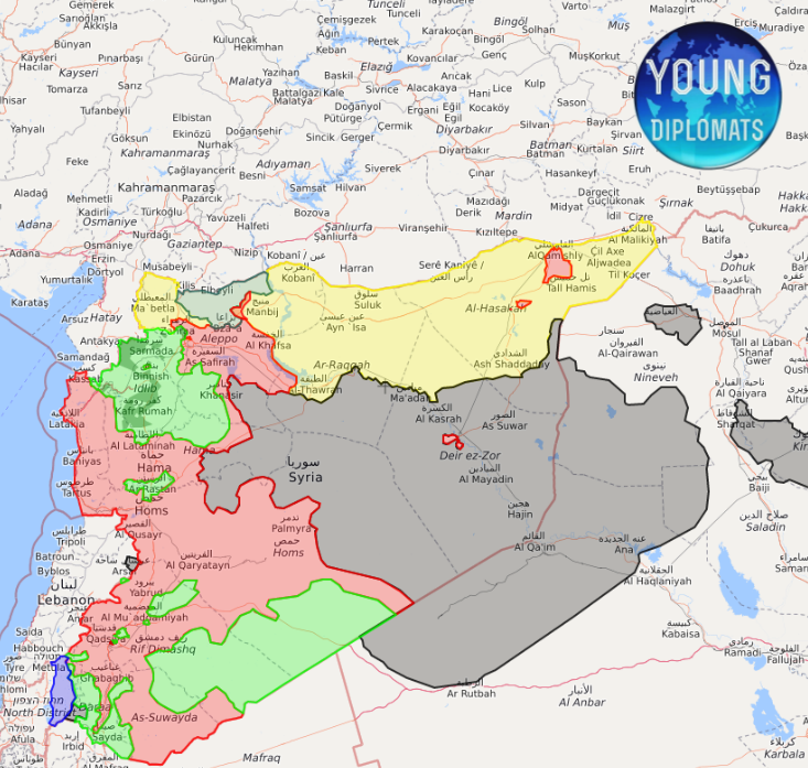Syria live map - Young Diplomats