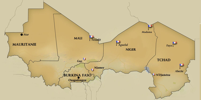 Sahel G5 Countries, Credit: Studio Tamani